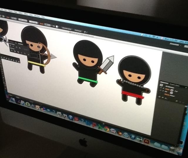 Ninjas by Jake